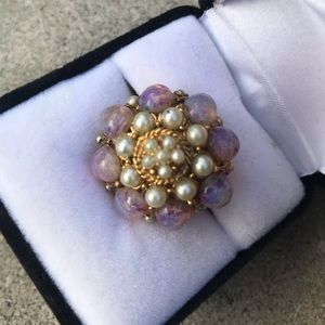 Vintage 1960's cocktail ring! Fab!!!